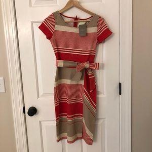 NWT Anthropologie Lilka Striped Dress Size XS